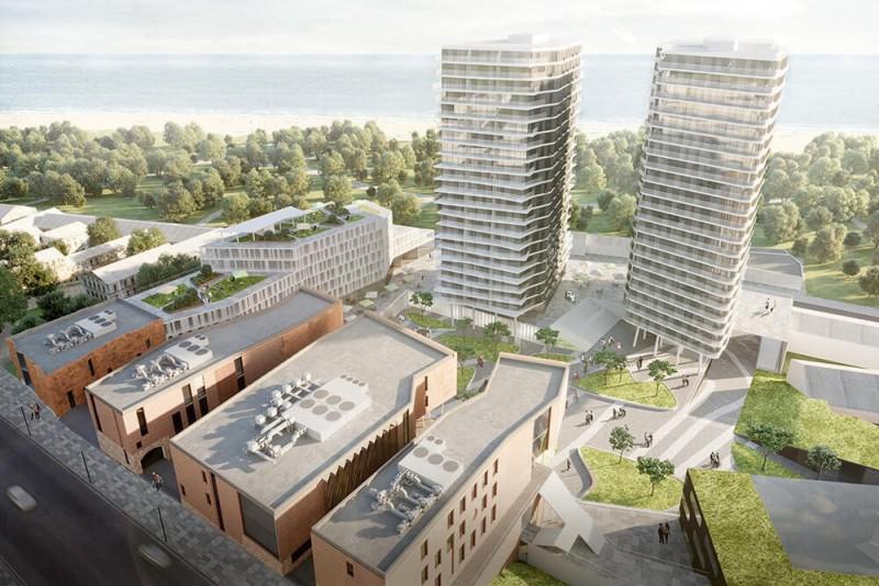 В центре Одессы появится современный квартал ART KVARTAL City Space