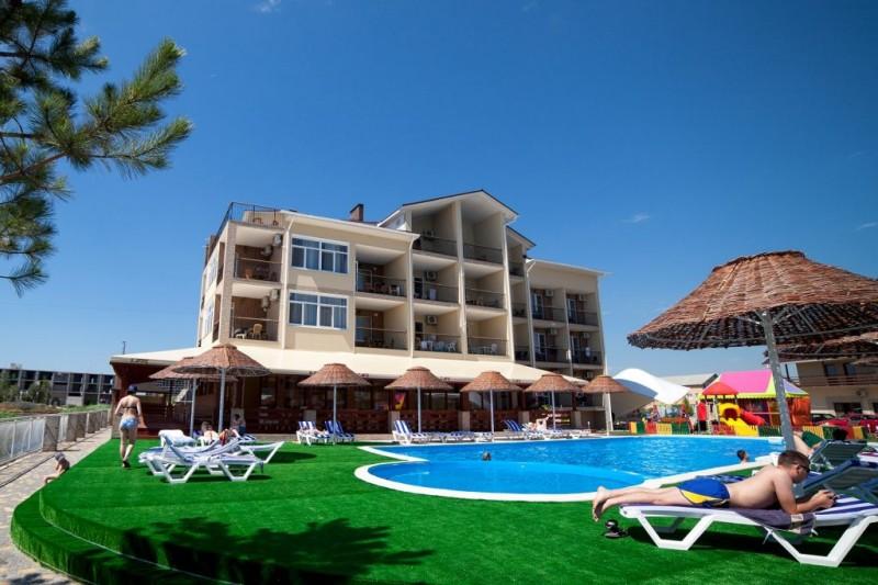 Отель в Затоке для отдыха на европейском уровне